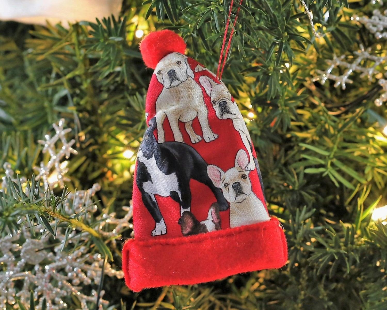 French Bulldog Christmas Ornaments Bulldog Gifts Bulldog Lover Gifts ...