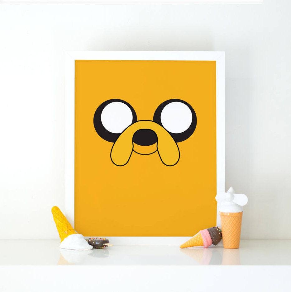 Jake adventure time Jake the dog Art print Printable art | Etsy