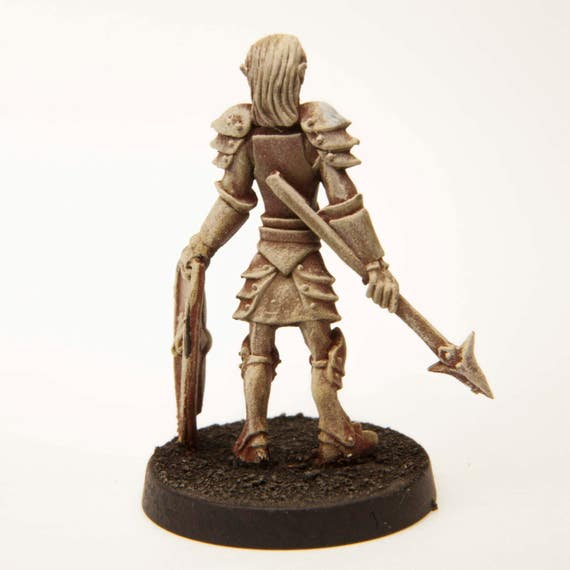 for 28mm Scale Table Top War Games Stonehaven Elf Longsword Miniature Figure Made in USA