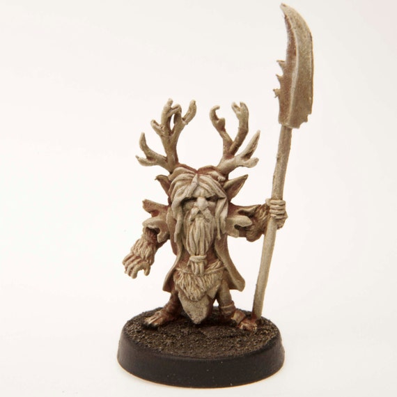 Gnome Druid Miniature Unpainted