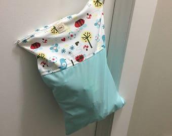 medium wet bag travel diaper LiliBelle