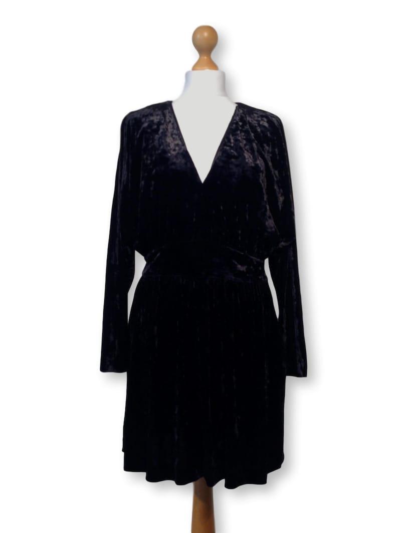 Velvet dress/ LBD / Schwarzes Kleid /Party kleider ...