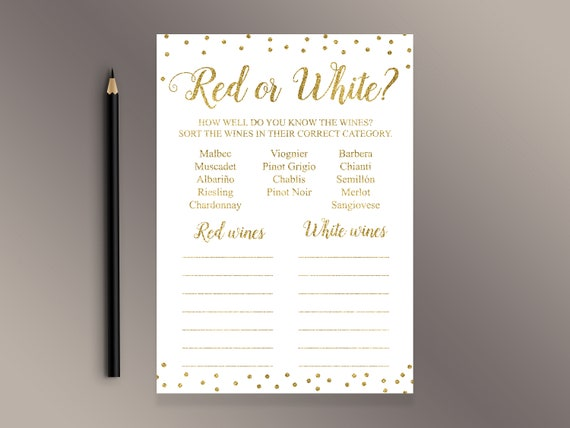 Name that Cake, Bridal Shower Games, Guess the Cake Game, Gold Confetti, Gold Bridal Shower, Printable Bridal Shower, Cakes Game, J001