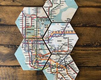 New York Subway Coasters