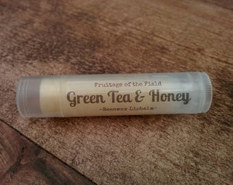 Green Tea & Honey Lip Balm