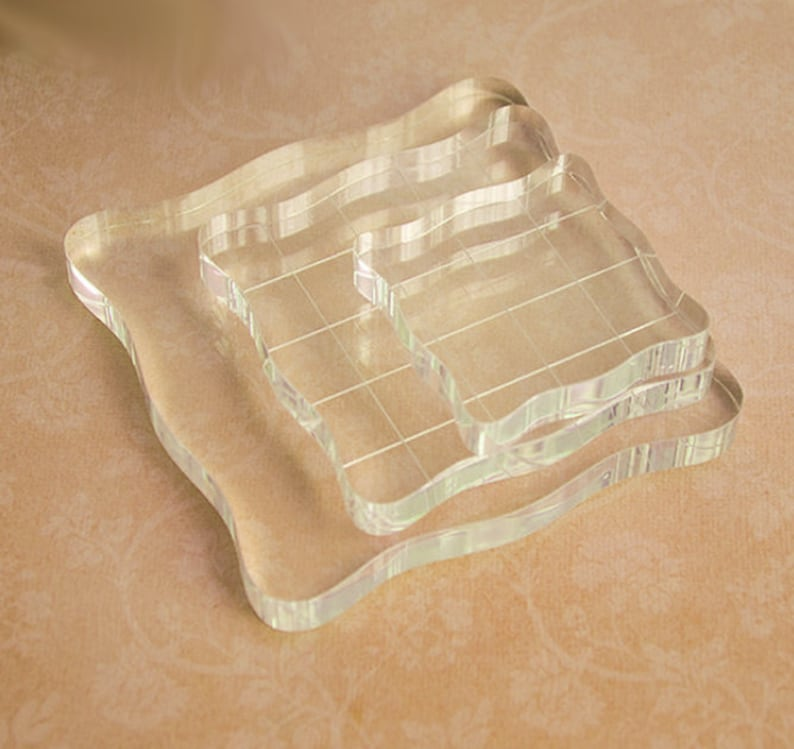 Acrylic Block For Clear Stamp Acrylic Mounting Block Clear image 0