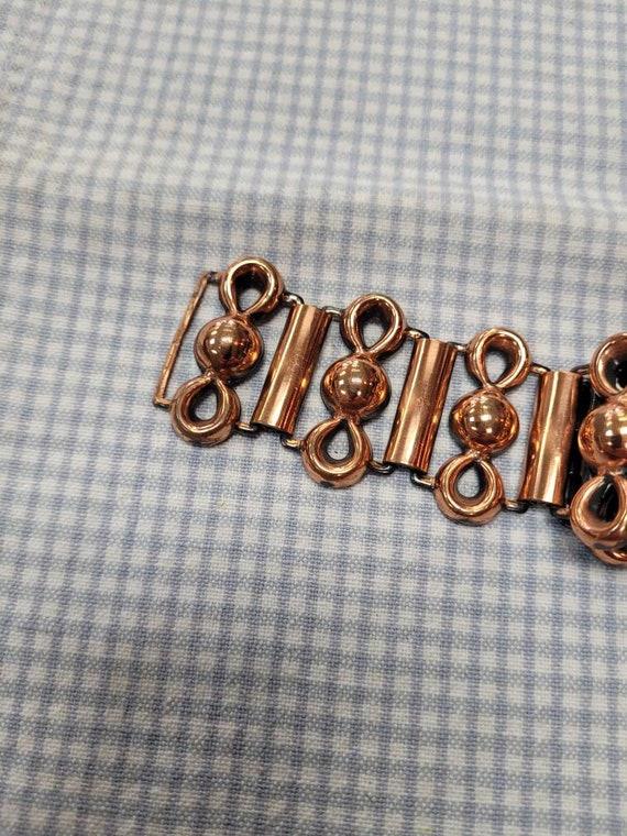 Retro Copper Link Belt, 1950s - image 7