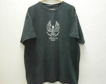 e0dc878d491 Vintage 90s Jamie THOMAS ZERO Skateboards t shirt size XL