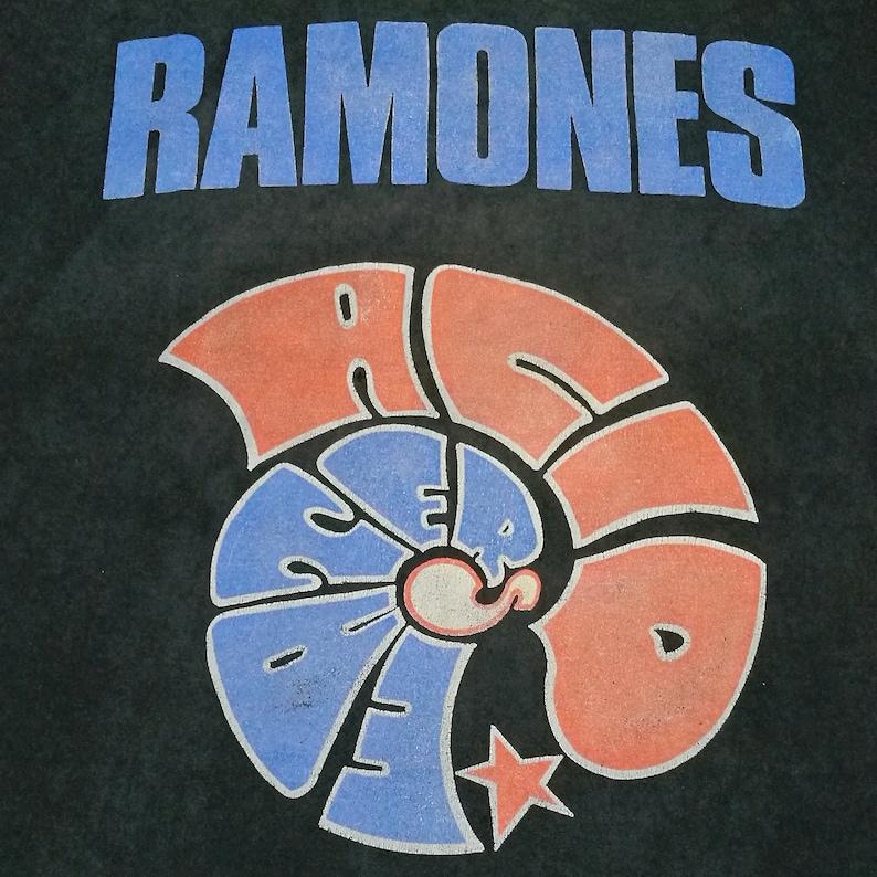 Ultra Rare! Vintage RAMONES Acid Eater Japan Tour 1994 t shirt size M