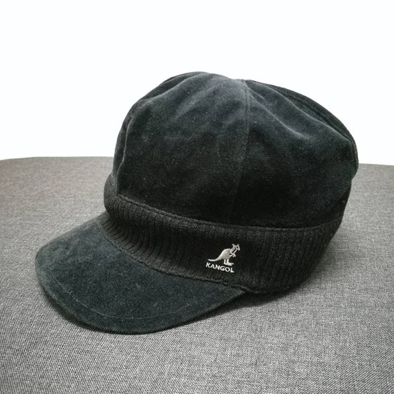 Fancy Vintage 90s Authentic KANGOL fall winter cadet hat size  6dc29c57076