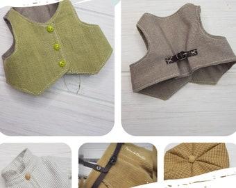 Patrones ropa Pepita 3.1 Gilbert Blythe  (Ana de Tejas verdes) 30 cm / Pepita 3.1 Gilbert Blythe clothing patterns  12''