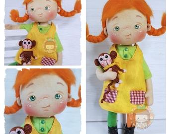 Pepita Pipita inspiration doll 37 cm / Pepita Pipita doll inspiration 14,5''