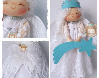 Pepita Angel-star doll 41 cm / Pepita Angel-star doll 16''