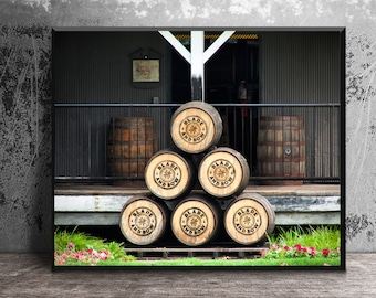 Blade and Bow Bourbon Barrel Heads, Bourbon Wall Art, Bar Art, Man Cave Decor, Gift for Him, Masculine Wall Art, Bar Decor, Stitzel Weller