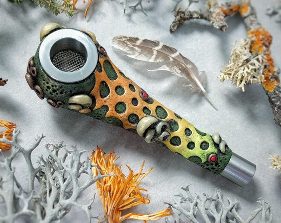 "Smoking pipe. Series  ""Mysterious forest"""