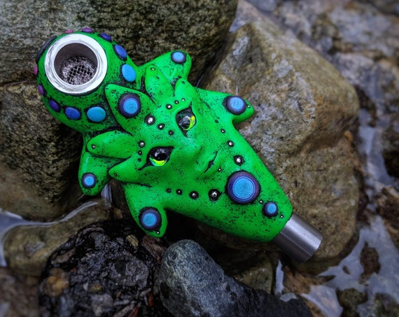 """Smoking pipe. Series  """"Mysterious forest"""""""