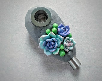 "Smoking pipe. Series  ""Succulents"""