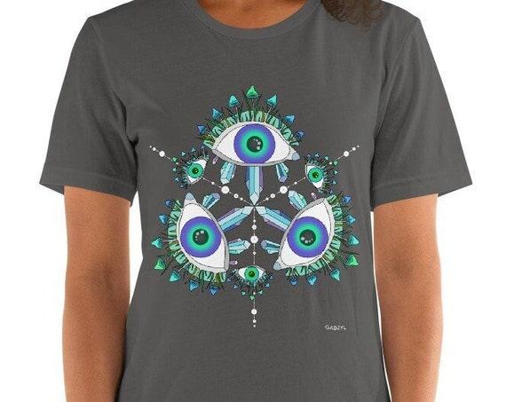 GADZYL mushroom Short-Sleeve women's T-shirt