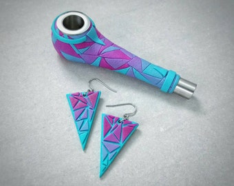 Pipe and Earrings SET