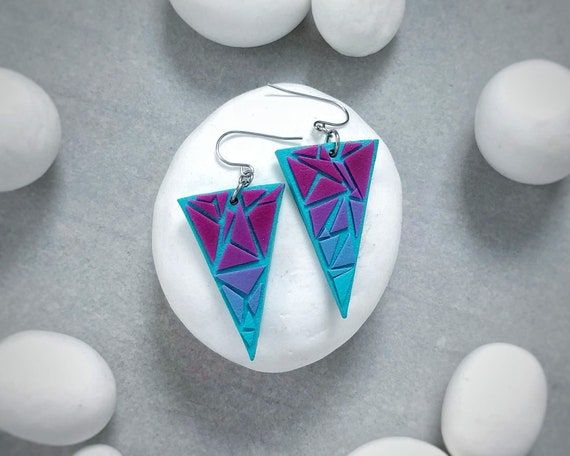 "Earrings ""geometry"""
