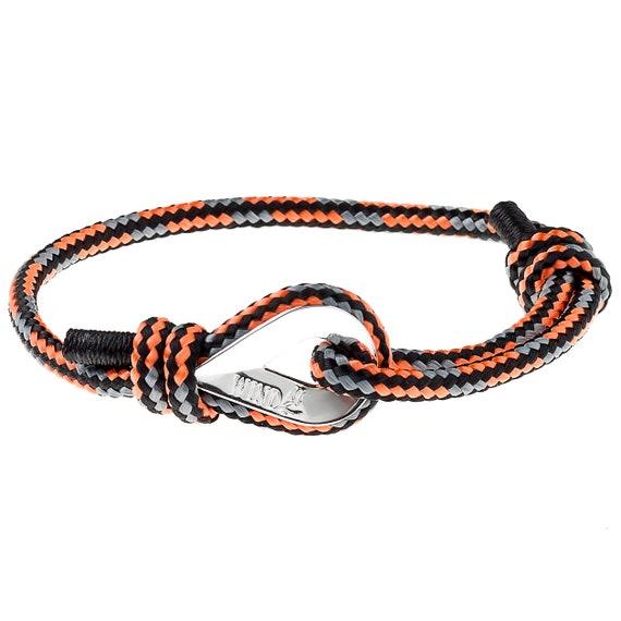 CORD BRACELET - Paracord Bracelet Sailing Bracelet Nautical Bracelet Sailor Bracelet Surf Bracelet Surfing Bracelet Maritime Bracelet