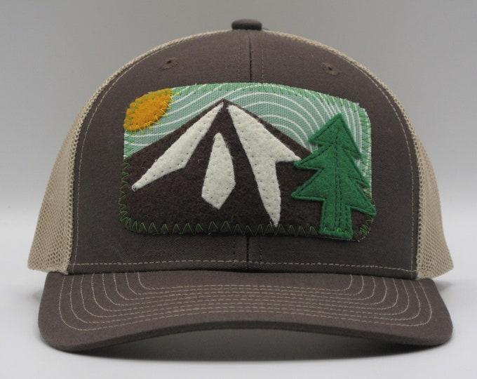 Mountain Trucker/Baseball Hat in Brown