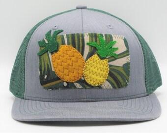 8568eaa4f6262 Pineapple Party Trucker Hat Baseball Cap