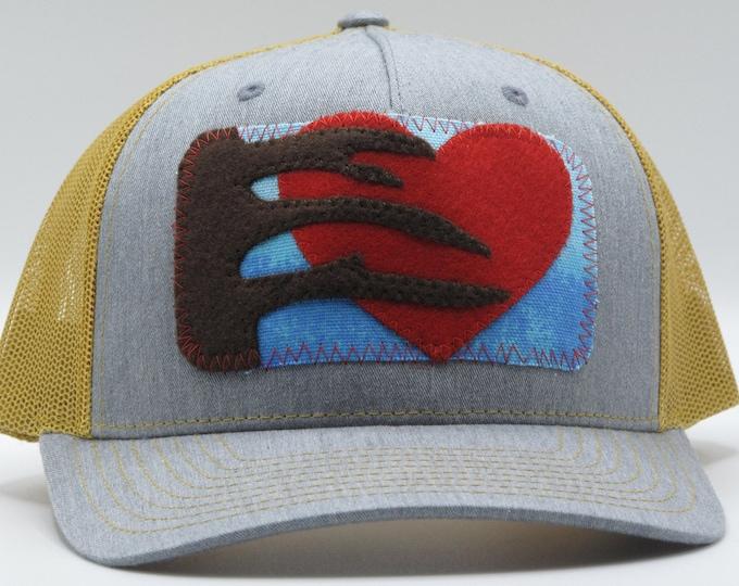 Tree Love Gold Baseball Hat / Trucker Hat