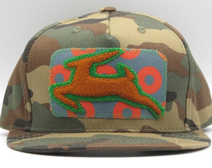 Antelope Camo Baseball/Trucker Hat