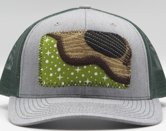 Guitar Playing Baseball Hat / Trucker Hat