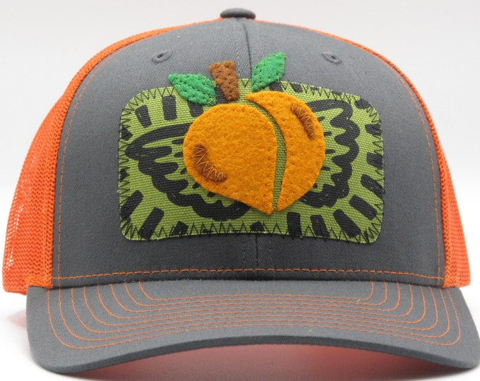 Feeling Peachy Orange Baseball Hat / Trucker Hat