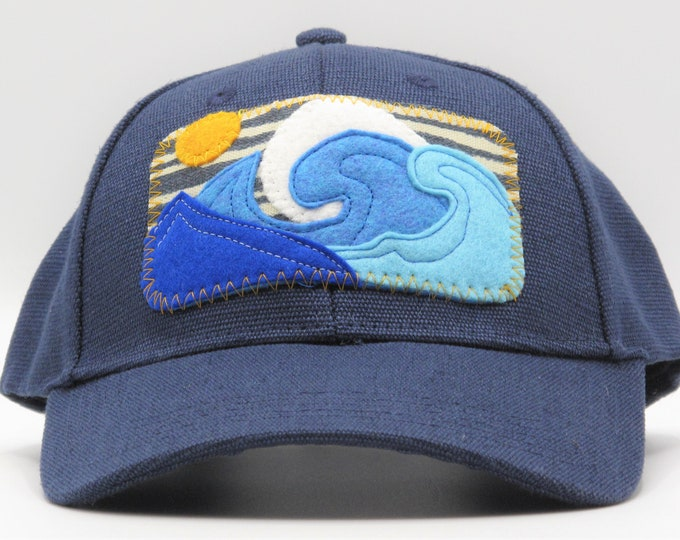 Big Wave Hemp Baseball Hat