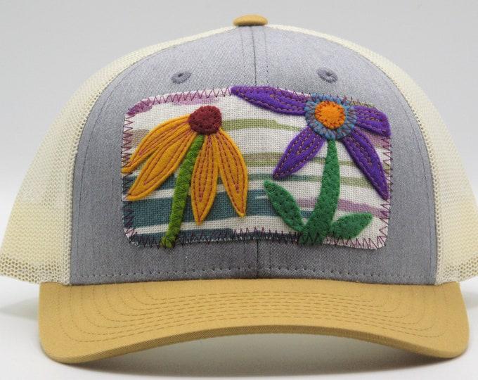 Coneflower Baseball Hat / Trucker Hat