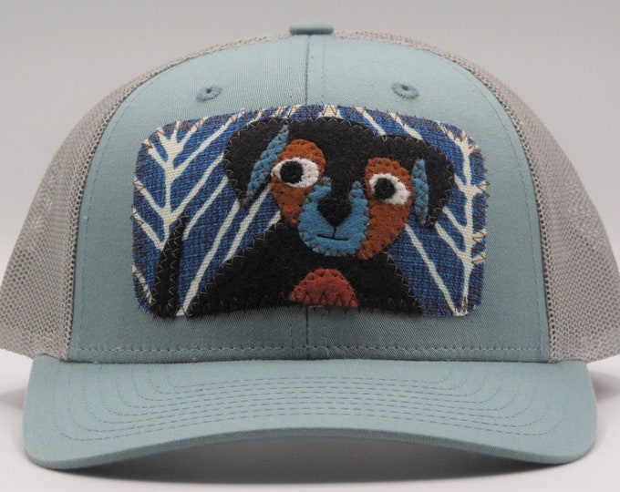 Little Black Doggy Baseball Hat / Trucker Hat