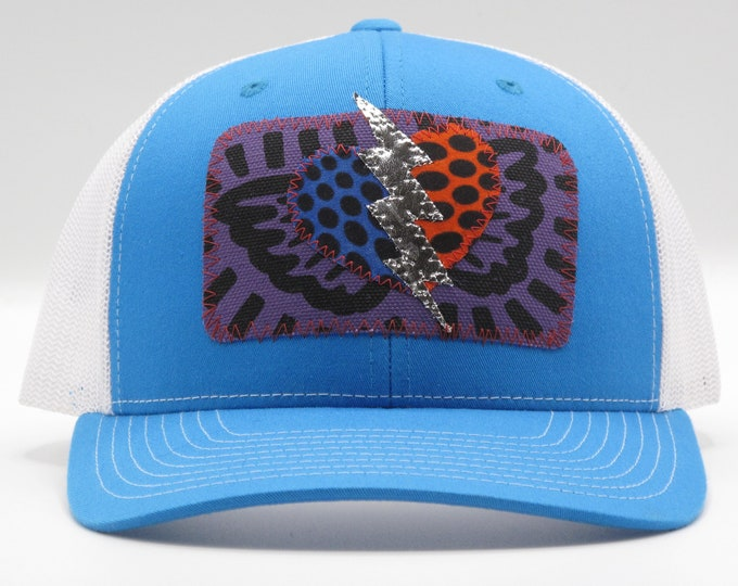 Lightening Heart Blue Baseball Hat / Trucker Hat