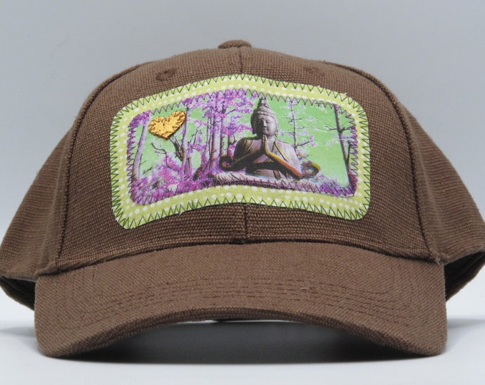 Buddha of the Forest Brown Hamp Baseball Hat