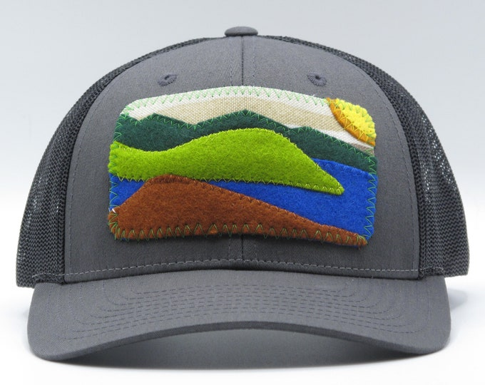 Mountain Lake Baseball Hat / Trucker Hat