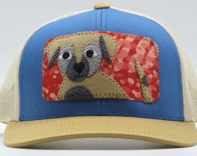 Little Tan Puppy Baseball Hat / Trucker Hat