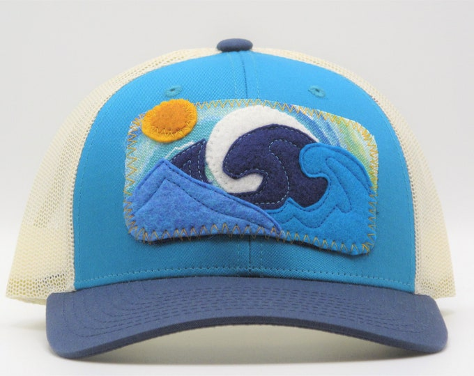 Big Wave Trucker Hat/ Baseball Hat