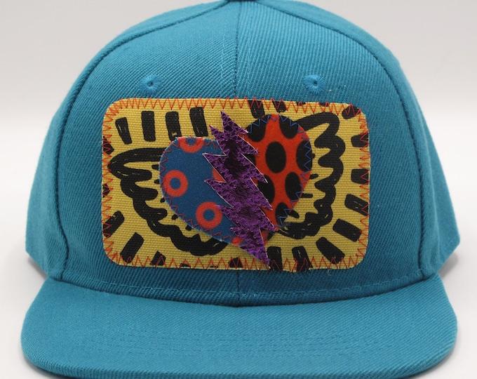Grateful Heart Blue Toddler Trucker Hat