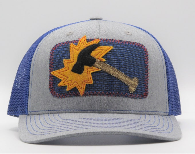 Mighty Hammer Trucker/Baseball Hat