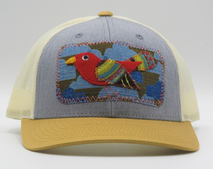Tricolor Birdie Baseball/Trucker Hat