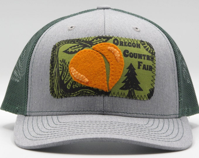 Oregon Country Fair  Gray Baseball Hat / Trucker Hat