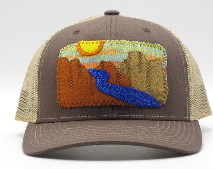 River Canyon Trucker/Baseball Hat