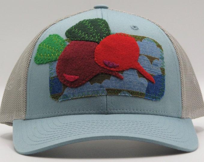 Beet Love Blue Baseball Hat / Trucker Hat