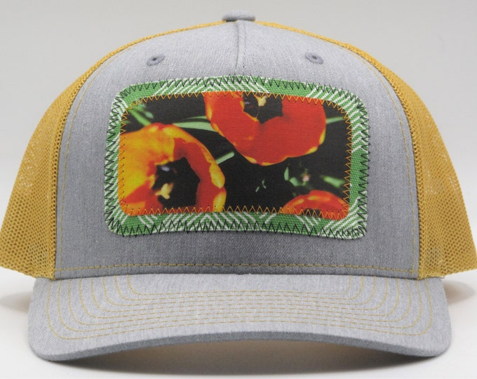 Poppy Garden Baseball Hat / Trucker Hat