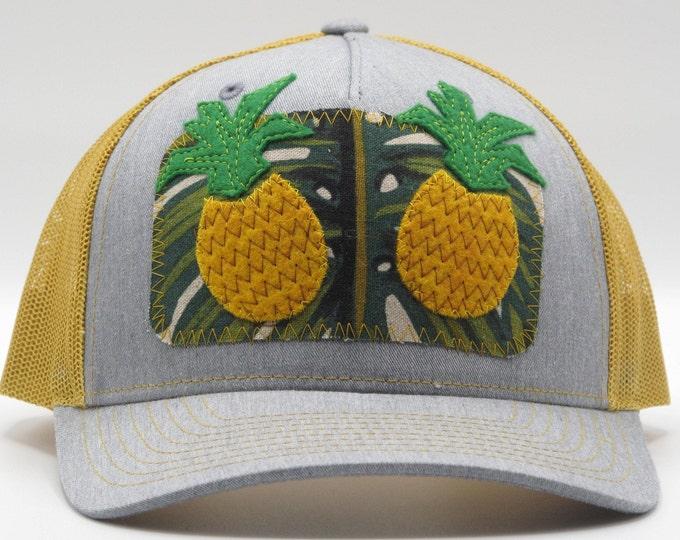 Golden Pineapple Baseball Hat / Trucker Hat