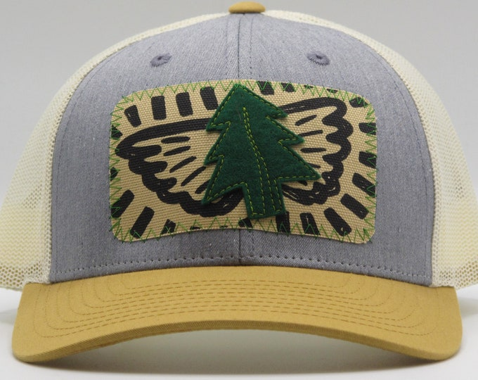 Tree Angel Baseball Hat / Trucker Hat