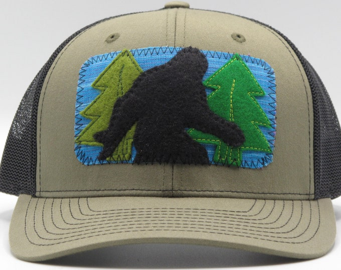 Sasquatch Baseball Hat / Trucker Hat