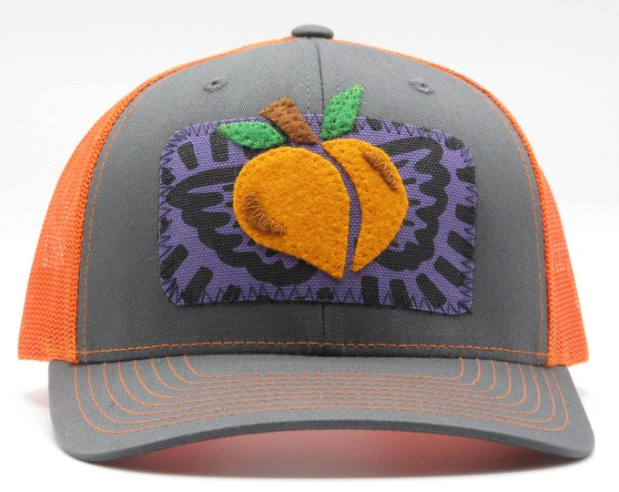 Flying Peach Trucker Hat/Baseball Hat
